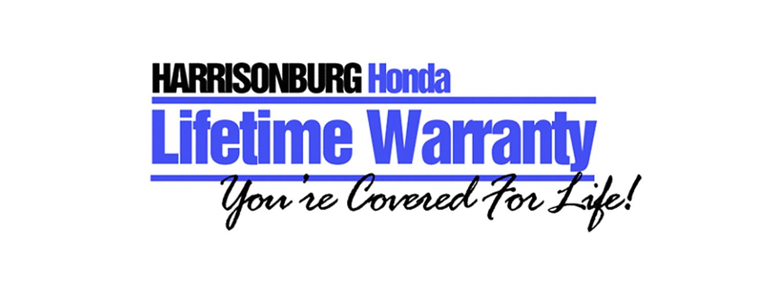 Harrisonburg Honda Lifetime Warranty