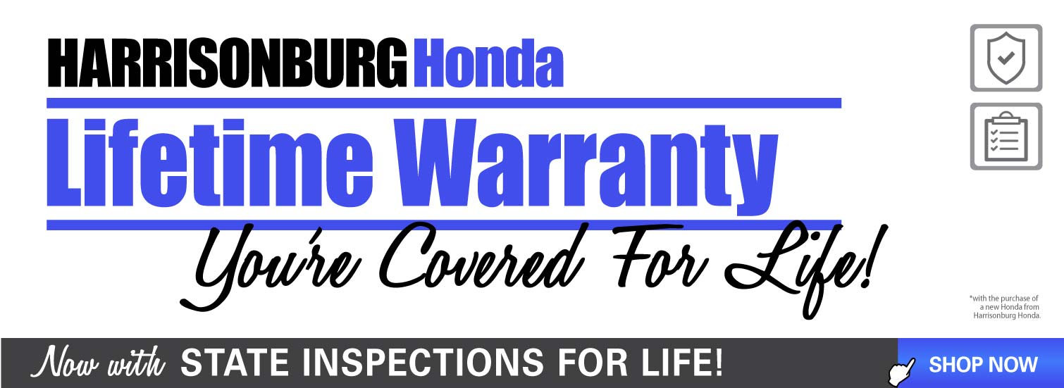 Harrisonburg Honda Lifetime Warranty