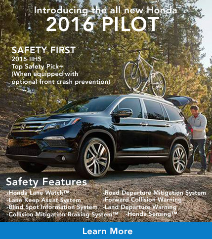 All new Honda Pilot at Harrisonburg Honda in Virginia