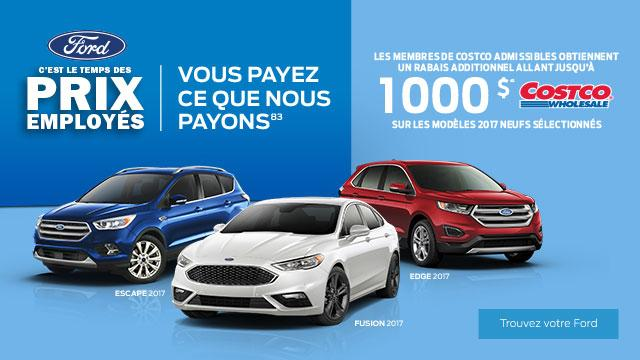 French SUV Employee Pricing