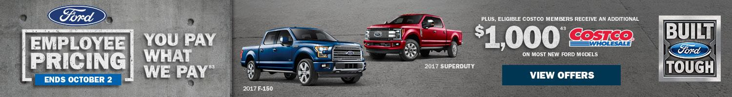 Ford Employee Pricing Trucks