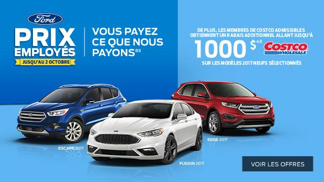 French Ford Employee Pricing