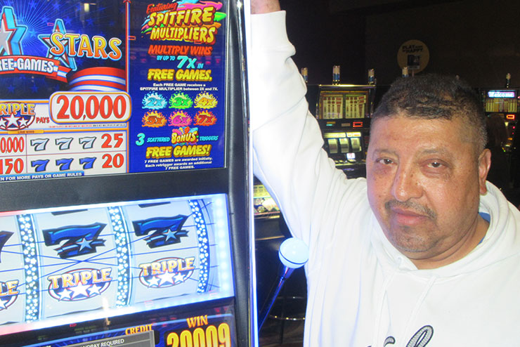Cristo R. Won $20,009