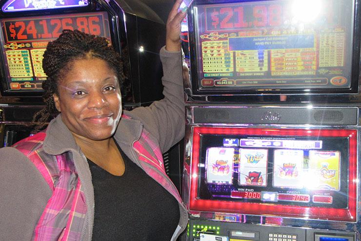 Cynthia L. Won $3,000