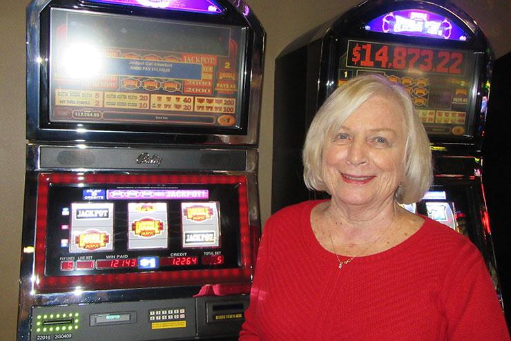 Kay M. Won $11,535.05
