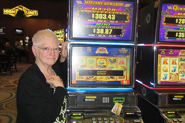 Paula J. Won $5,158.60