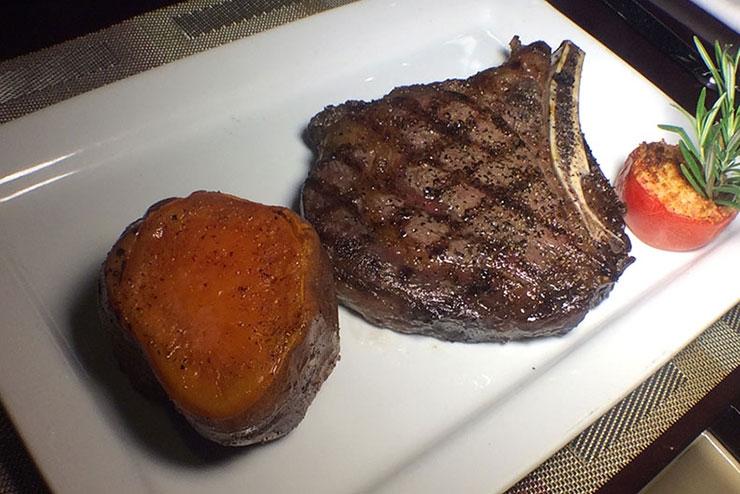 Dry Aged Bone-In Cowboy Steak
