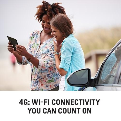 Chevy 4G Wi-fi vehicles