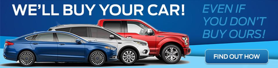 We'll buy your cars even if you don't buy ours - Fines Ford Lincoln
