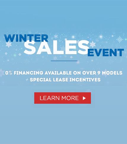 0% Winter Sales Event