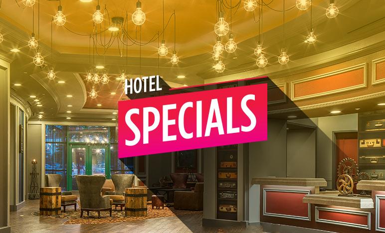 hotel specials