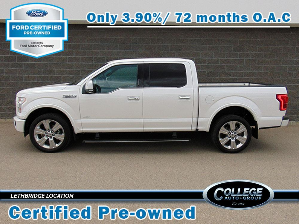 Used. 2016 Ford F-150 LImited & Used Vehicle Offers   Lethbridge Ford u0026 Lincoln Dealer   College ... markmcfarlin.com