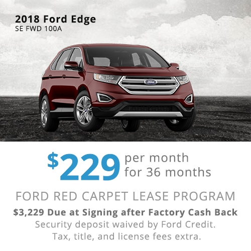 Ford Edge Lease Offer