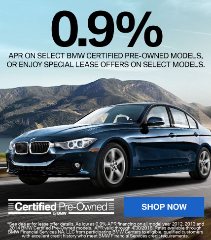 BMW Certified Pre-Owned Offer