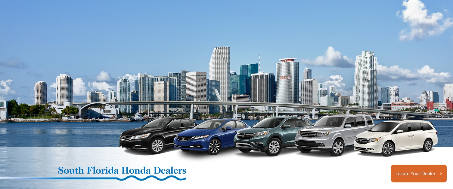 Miami fort lauderdale and west palm beach fl area honda for Honda dealership west palm beach