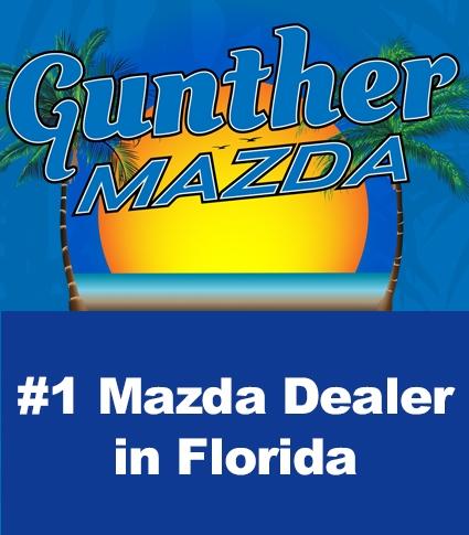 Gunther Mazda is the #1 Mazda dealer in Florida