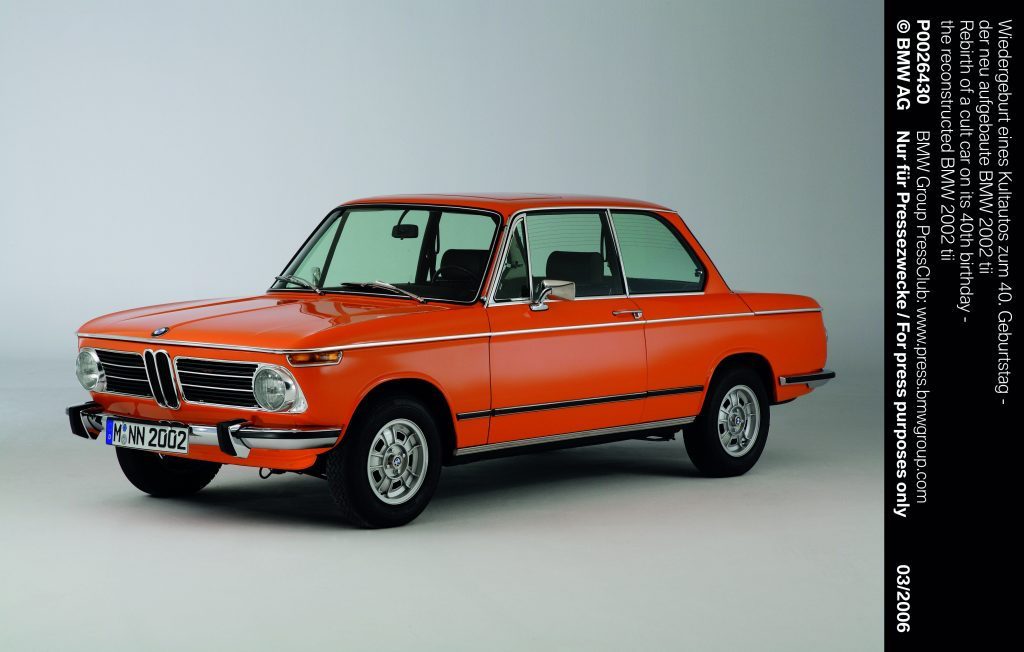 BMW 2002tii in Inka Orange