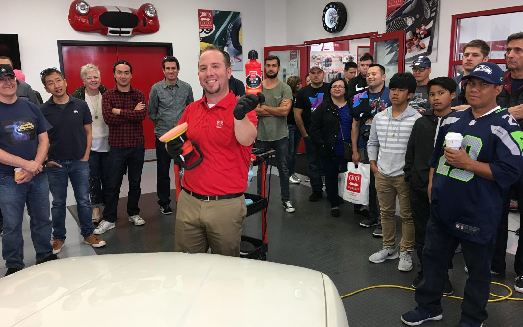 Griot's Garage Car Care Tech Session