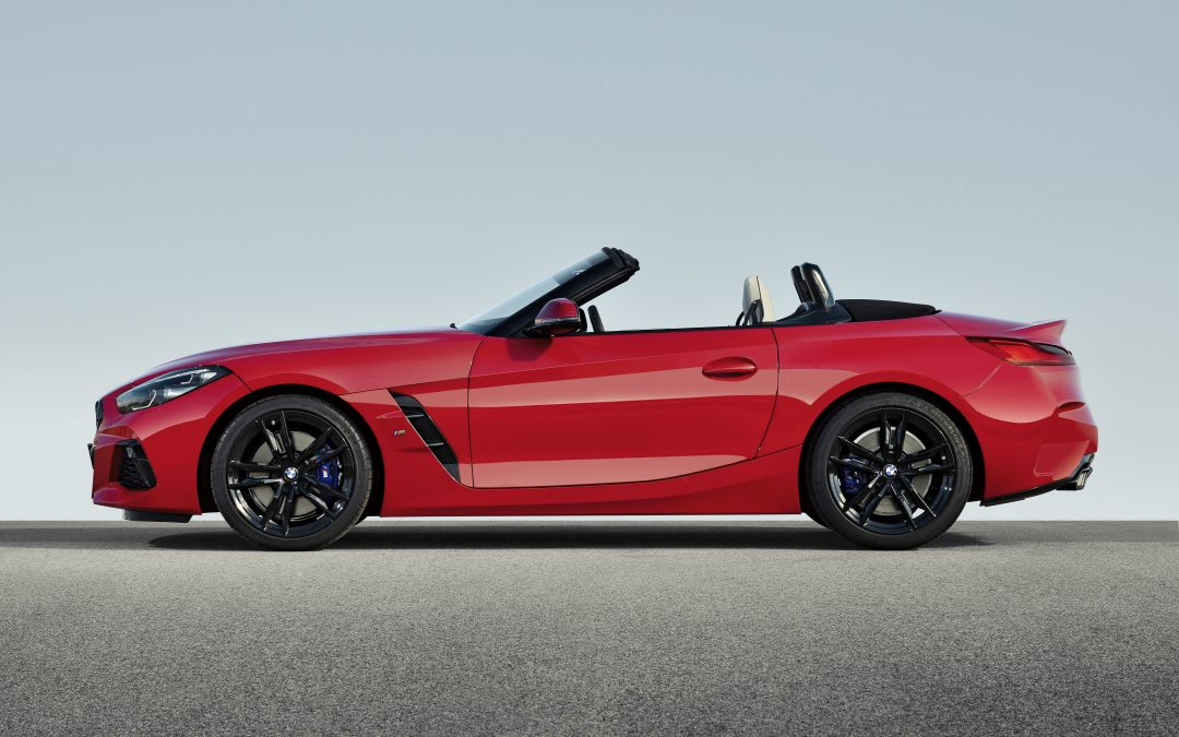 World Premiere of the new BMW Z4 at Pebble Beach