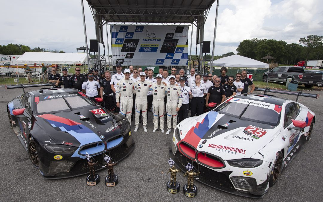 BMW Team RLL Gets First Victory in M8 GTE