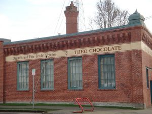 The Theo Chocolate Factory building