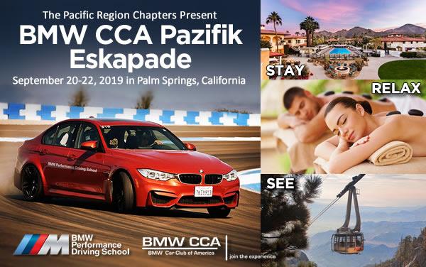BMW CCA Pazifik Eskapade 2019