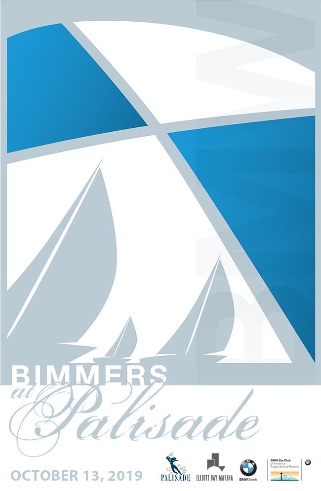 2019 Bimmers at Palisade poster