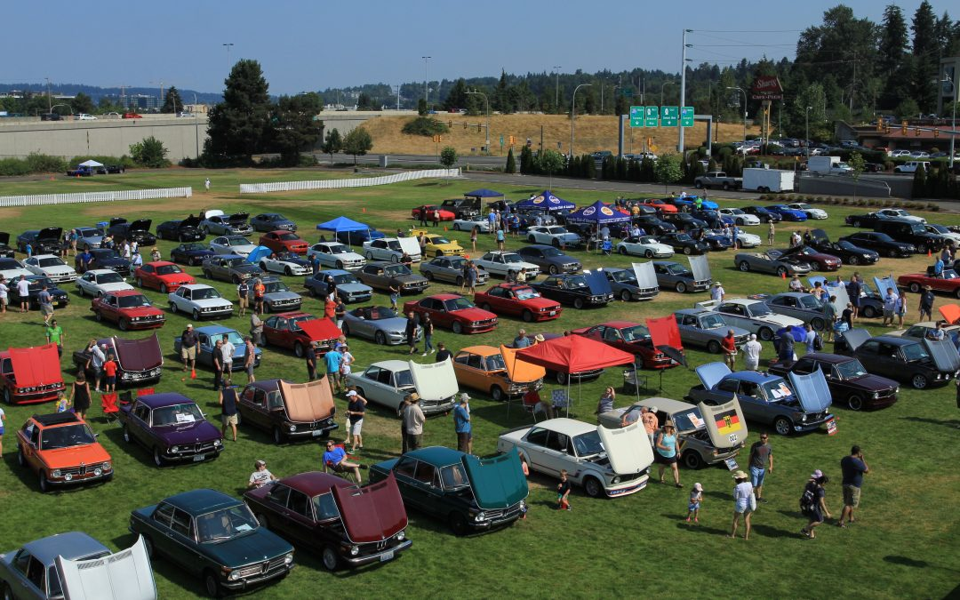 Deutsche Marque Car Show July 28th Cedar River Park, Renton River Days