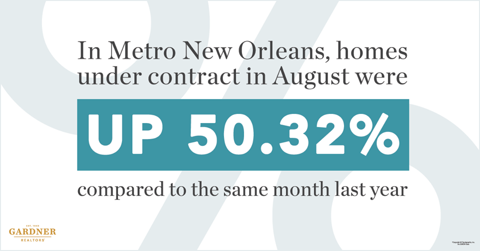 Metro New Orleans Homes Under Contract