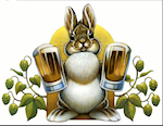 Golden Rabbit Brewery Logo