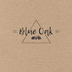 Blue Oak Brewery Logo