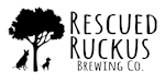 Rescued Ruckus Brew Co. Logo