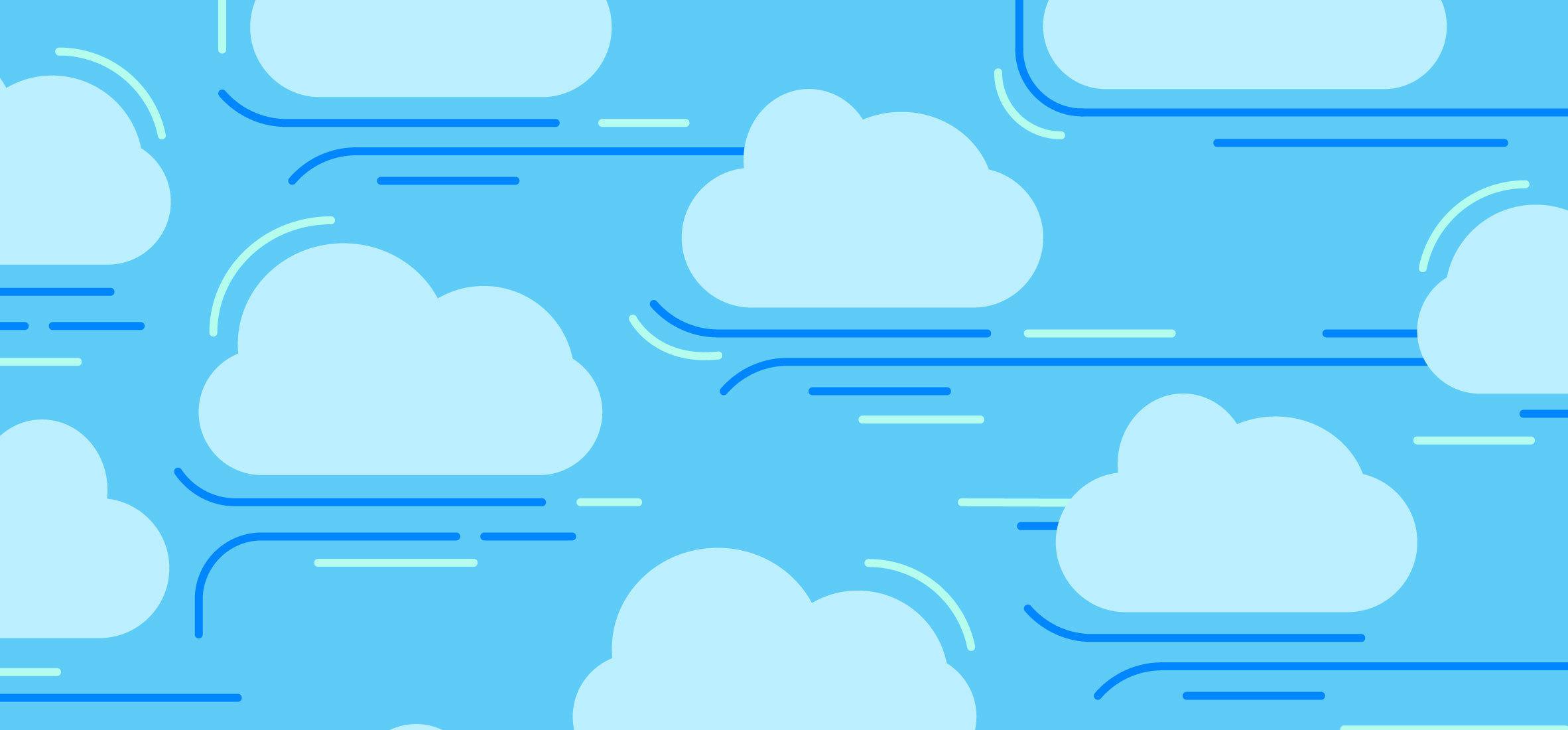 Marketing Moving Cloud Hero Image