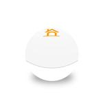 Medium white round lipbalm hs