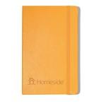 Medium orange hardcover notebook hs