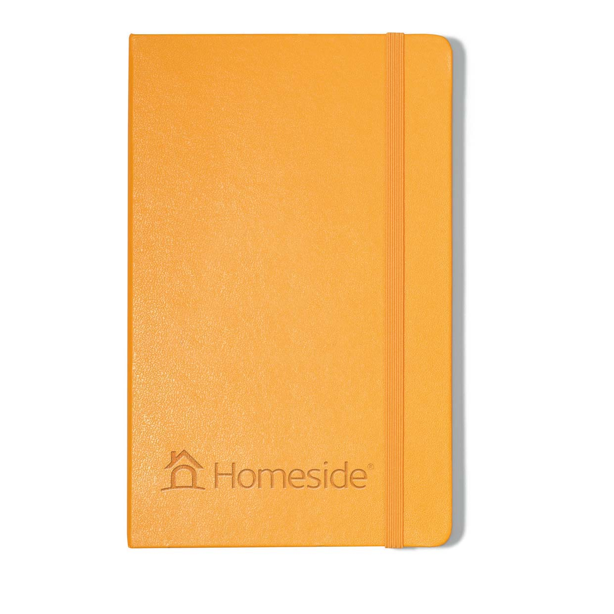 Orange hardcover notebook hs