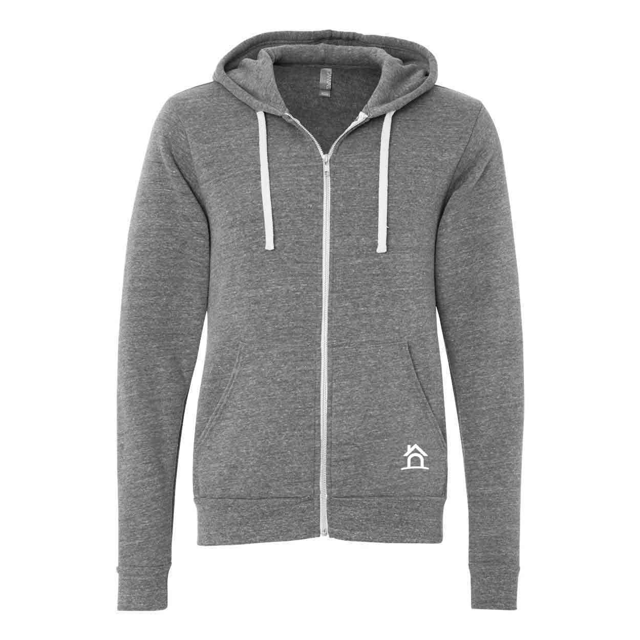 Triblend fleece hoodie hs