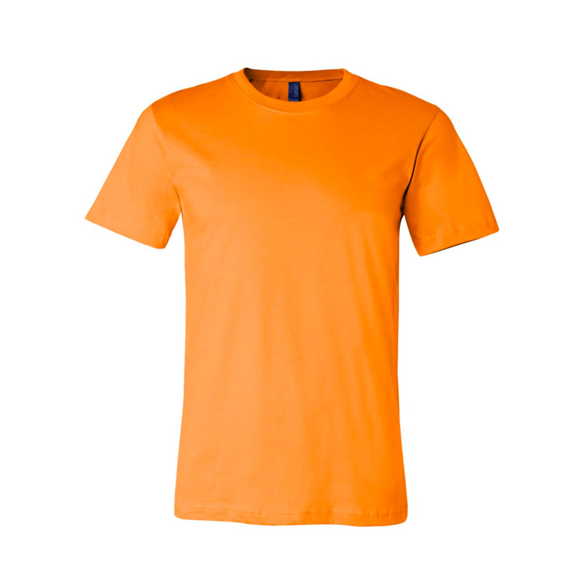 Orange soft jersey bella canvas