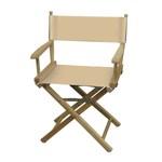Medium natural directors chair