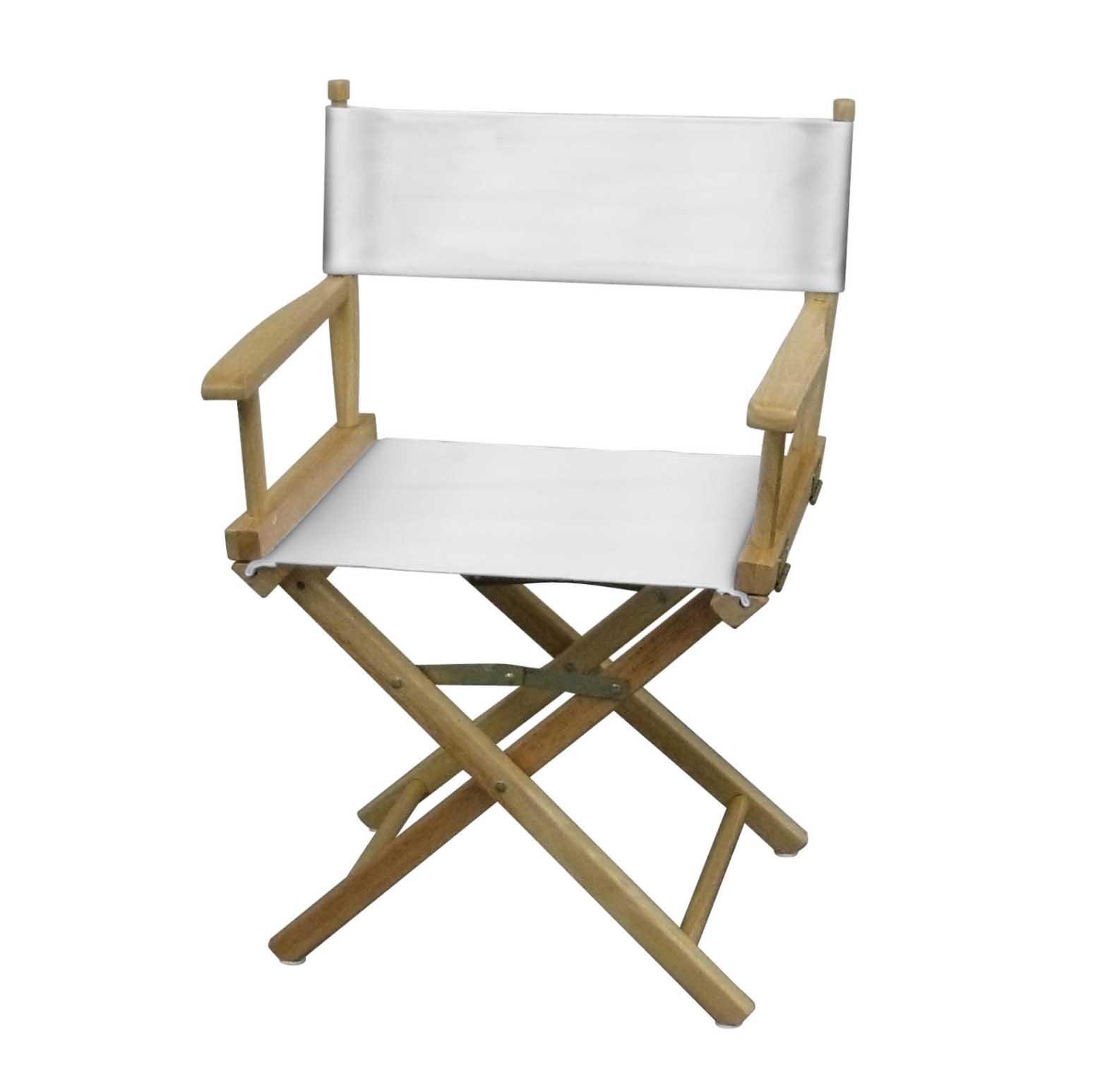 White directors chair