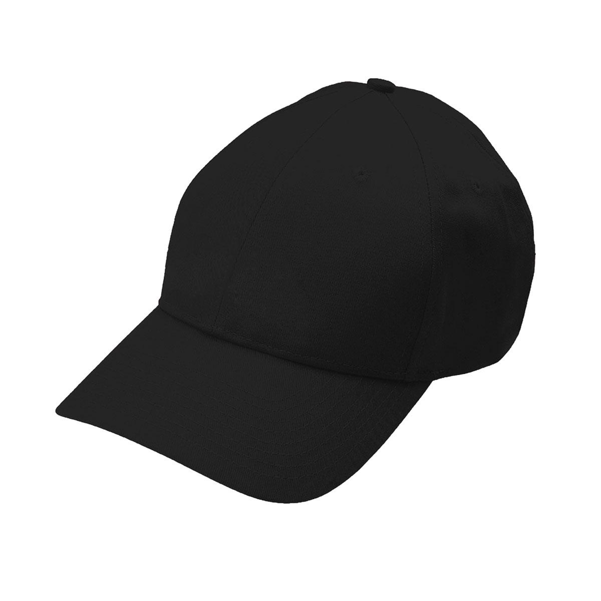 Black eco cotton cap