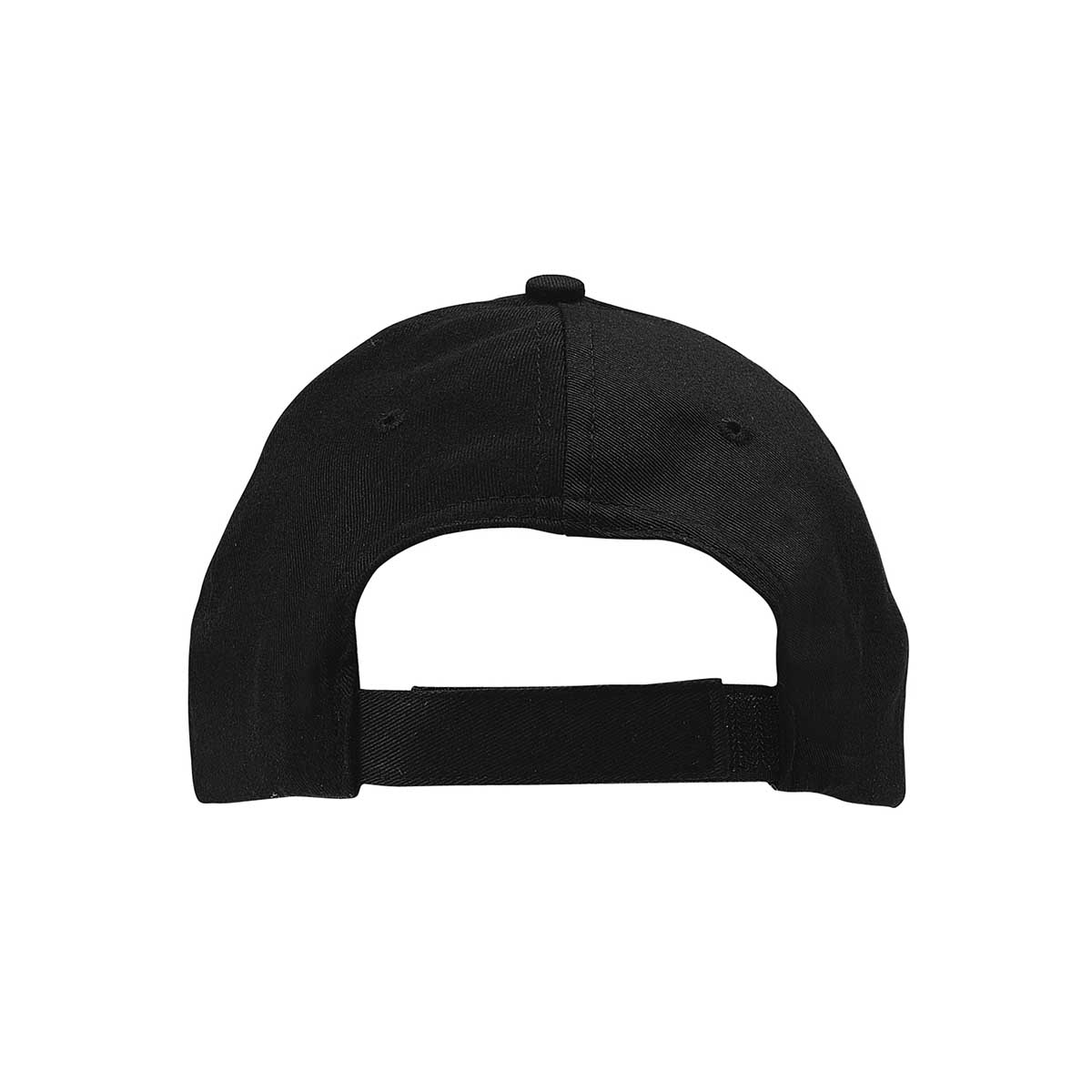 Black eco cotton cap back