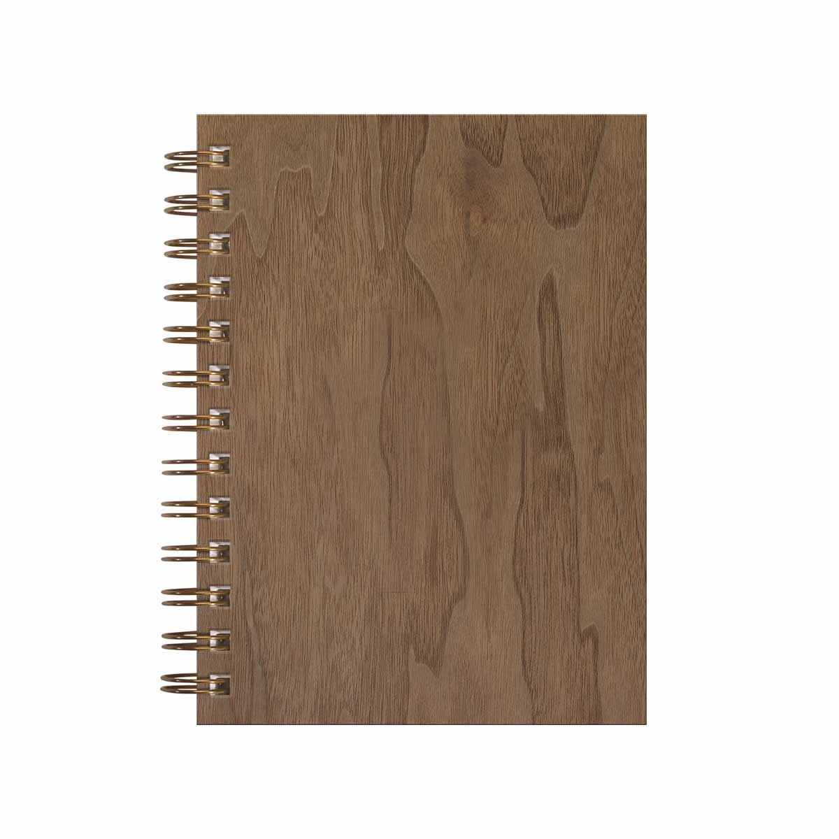 Wood journal walnut