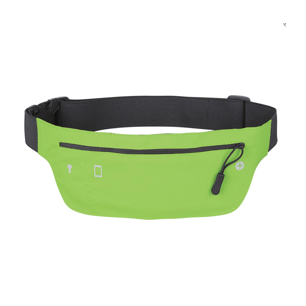Neon fanny pack green