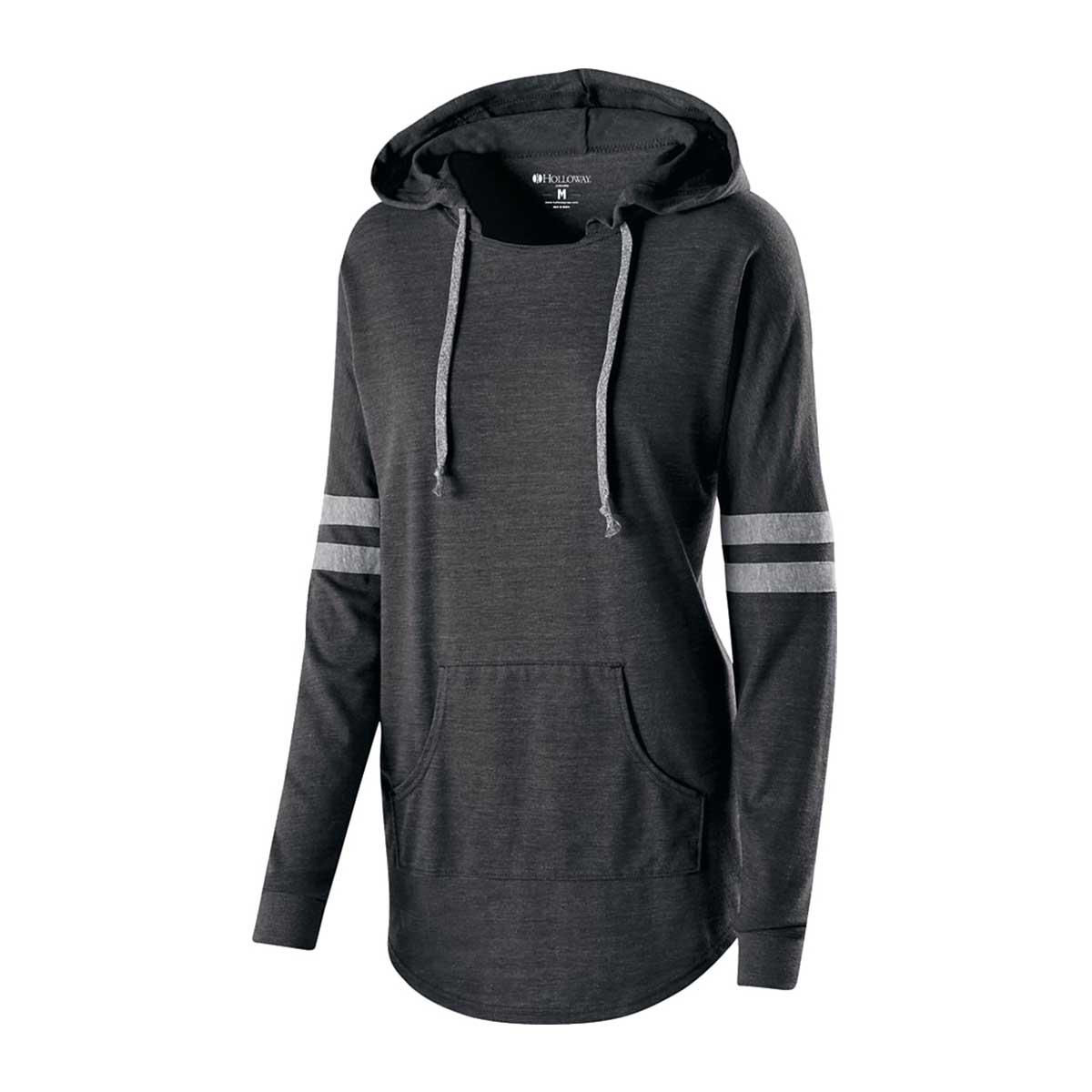 Charcoal ladies heather game day sweatshirt