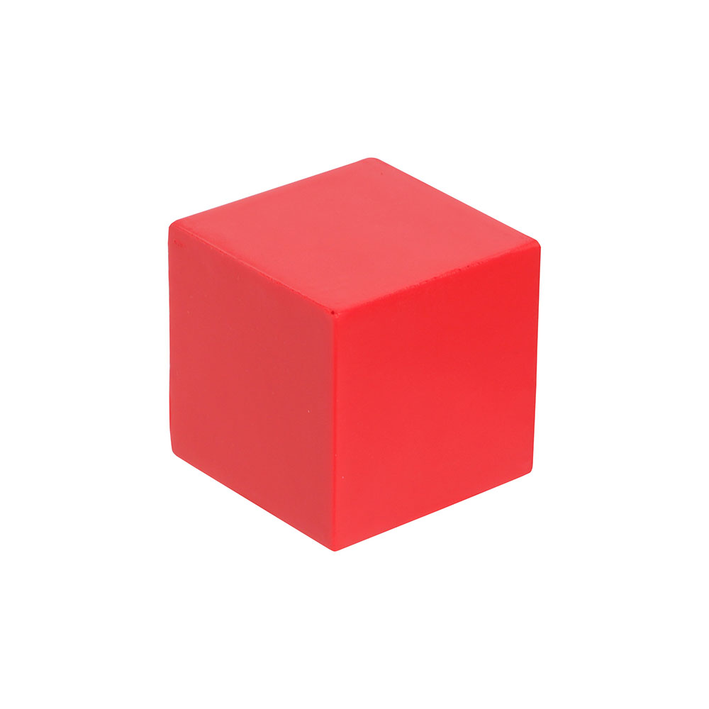 Red cube stress relief