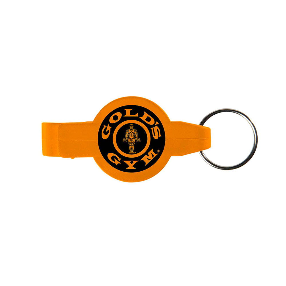 Orange key opener ring