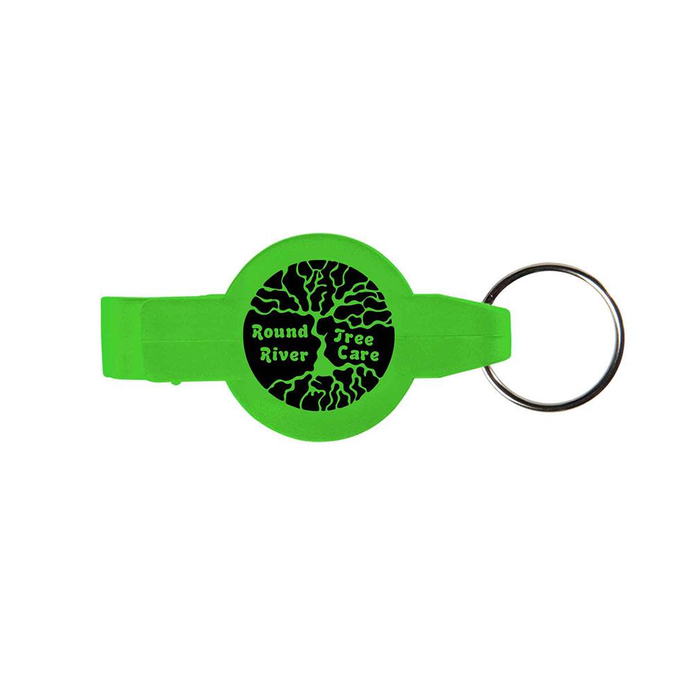Green key opener ring