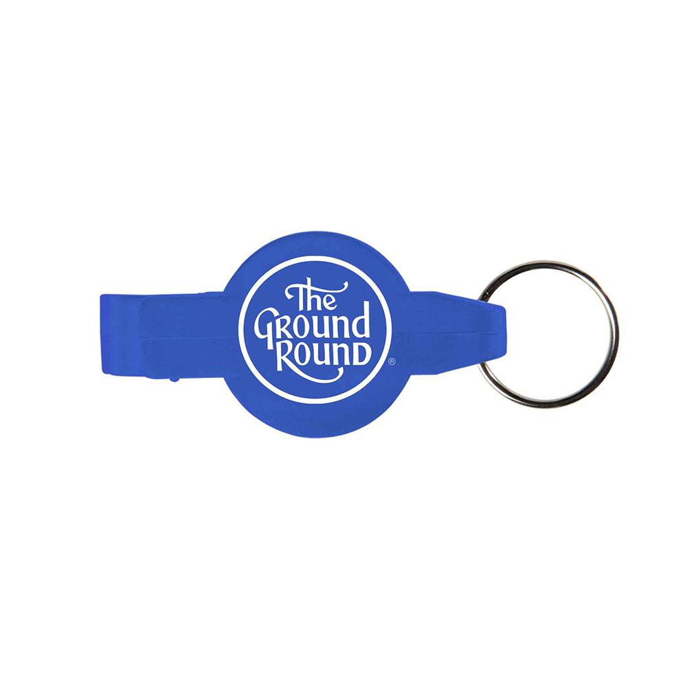 Blue key opener ring