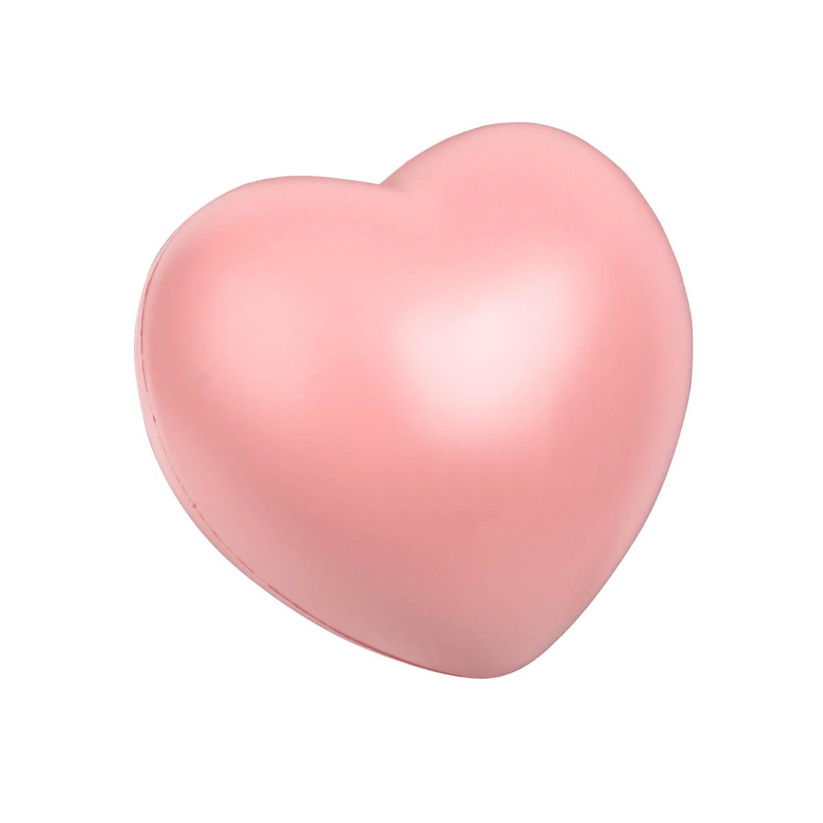 Pink heart stress